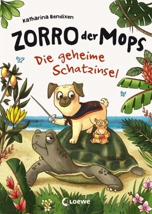 Buch-Reihe Zorro, der Mops