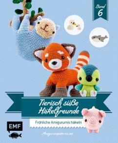 Tierisch süße Häkelfreunde 6 - Amigurumipattern
