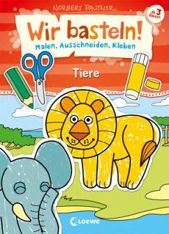 Buch: Wir basteln! - Tiere