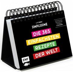Simplissime - Die 365 einfachsten Rezepte der Welt: Tischkalender - Mallet, Jean-François