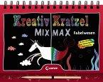 Kreativ-Kratzel MIX MAX - Fabelwesen