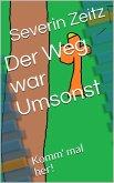 Der Weg war Umsonst (eBook, ePUB)