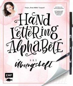 Handlettering Alphabete - Das Übungsheft mit original Tombow ABT Dual Brush Pen - Cappell, Tanja