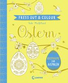 Press Out & Colour - Ostern