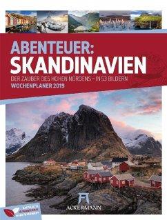 Skandinavien - Wochenplaner 2019