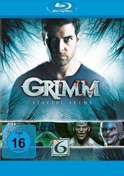Grimm - Staffel 6 BLU-RAY Box - David Giuntoli,Silas Weir Mitchell,Bitsie...