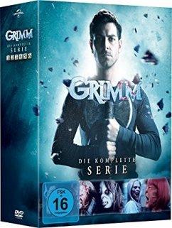 Grimm - Die komplette Serie/ Staffel 1-6 DVD-Box - David Giuntoli,Silas Weir Mitchell,Bitsie...