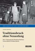 Traditionsbruch ohne Neuanfang