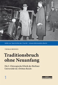 Traditionsbruch ohne Neuanfang - Beddies, Thomas