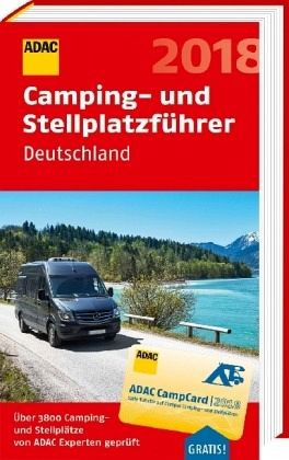 adac camping und stellplatzf hrer deutschland 2018 buch. Black Bedroom Furniture Sets. Home Design Ideas