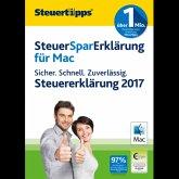 SteuerSparErklärung MAC 2018 (für Steuerjahr 2017) (Download für Mac)