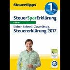 SteuerSparErklärung Lehrer 2018 (für Steuerjahr 2017) (Download für Windows)