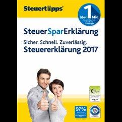 SteuerSparErklärung 2018 (für Steuerjahr 2017) ...