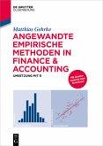 Angewandte empirische Methoden in Finance & Accounting