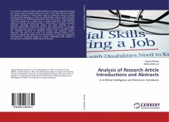 Analysis of Research Article Introductions and Abstracts