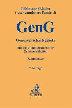 Genossenschaftsgesetz - Pöhlmann, Peter; Fandrich, Andreas; Bloehs, Joachim; Hettrich, Eduard; Pöhlmann, Peter