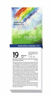 Neukirchener Kalender 2019 Großdruck-Abreißkalender
