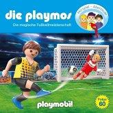 Die Playmos - die Magische Fußballmeisterschaft, 1 Audio-CD