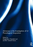 Advances in the Investigation of L3 Phonological Acquisition