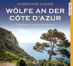 Wölfe an der Côte d'Azur / Kommissar Duval Bd.5 (4 Audio-CDs)