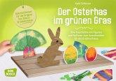 Der Osterhas im grünen Gras