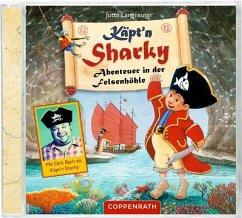 Abenteuer in der Felsenhöhle / Käpt'n Sharky Bd.4 (1 Audio-CD) - Langreuter, Jutta