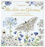 Ausmalbuch - Marjolein Bastin - Alles Liebe zum Geburtstag!