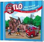 Flo - das kleine Feuerwehrauto - Ein echter Rettungshund, 1 Audio-CD