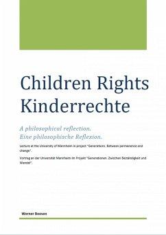Children Rights - Kinderrechte (eBook, ePUB) - Boesen, Werner