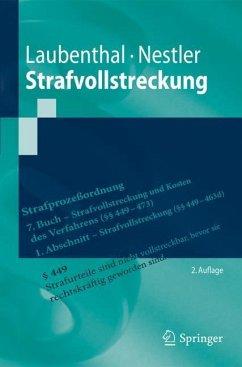 Strafvollstreckung - Laubenthal, Klaus;Nestler, Nina