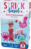 Schmidt 51604 - Strickliesel, Kreativ-Kiste, Handarbeiten, Reisespiel
