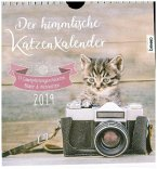 Der himmlische Katzenkalender 2019. Wochenkalender
