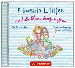 Prinzessin Lillifee und die kleine Seejungfrau, 1 Audio-CD - Finsterbusch, Monika