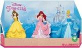 Bullyland 13245 - Walt Disney, Prinzessinnen in einer Geschenkbox, 3-tlg