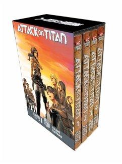 Attack On Titan Season 1 Part 1 Manga Box Set - Isayama, Hajime