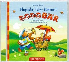 Hoppla, hier kommt Bodo Bär!, 1 Audio-CD - Bieber, Hartmut
