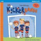 Anpfiff für das Siegerteam & Fußballfreunde halten zusammen / Die Kickerbande Bd.1-2 (1 Audio-CD)
