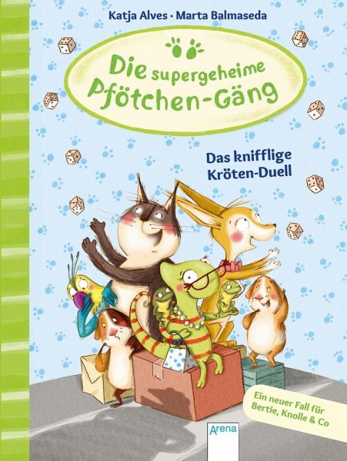 Buch-Reihe Die supergeheime Pfötchen-Gäng