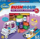 Ravensburger 76303 - ThinkFun®, Rush Hour® Junior, Das geniale Stauspiel, Reisespiel