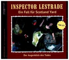 Inspector Lestrade - Der Augenblick des Todes, 1 Audio-CD
