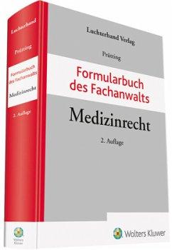 Formularbuch Medizinrecht