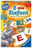 Ravensburger 24951 - E wie Elefant Lernspiel, Buchstaben entdecken, Legespiel