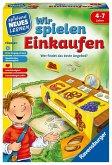 Ravensburger 24985 - Wir spielen Einkaufen, Würfelspiel, Wettlaufspiel, Familienspiel