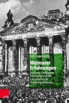 Weimarer Erfahrungen - Greenberg, Udi
