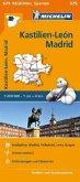 Michelin Karte Kastilien-León, Madrid