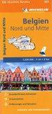 Michelin Karte Belgien Nord und Mitte