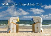 Malerische Ostseeküste 2019 Wandkalender