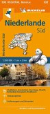 Michelin Karte Niederlande Süd