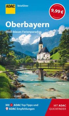 ADAC Reiseführer Oberbayern - Fraas, Martin