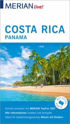 MERIAN live! Reiseführer Costa Rica Panama - Egelkraut, Ortrun